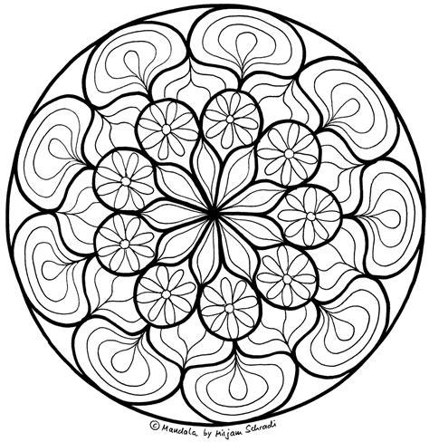 mandala malen für erwachsene blumen mandala zum entspannen f 252 r erwachsene