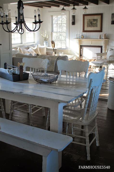 small farm table kitchen farmhouse 5540 our farmhouse kitchen table