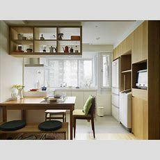 Simple Small Apartment Design Looks Stylish With Open