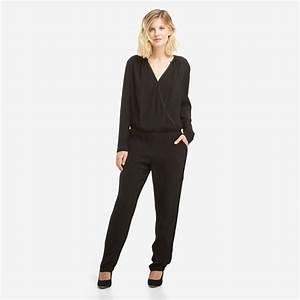 Combinaison Pantalon Femme Habillée : combinaison pantalon femme see u soon noir see u soon ~ Carolinahurricanesstore.com Idées de Décoration