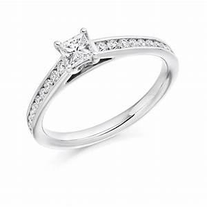 9 Carat White Gold Diamond Engagement Ring