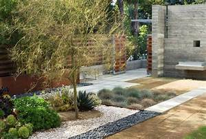 modern drought tolerant landscape backyard inspiration With make simple fresh and modern drought tolerant landscaping