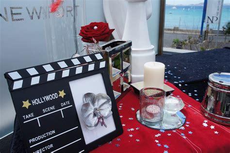 decoration mariage theme cinema th 232 mes mariage et soir 233 e d 233 co th 232 me quot cinema quot marseille aix en provence 13