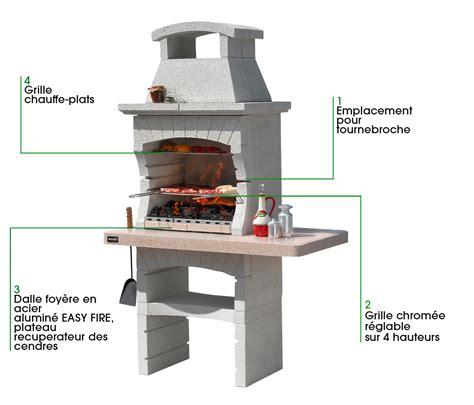 cuisine inox pas cher barbecue avec tournebroche