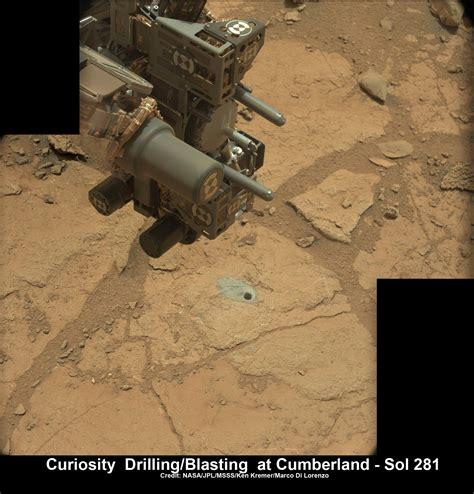 Curiosity Gets Set for Epic Drive after Laser Blasting ...