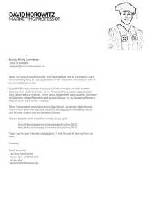 Adjunct Professor Cover Letter Sample