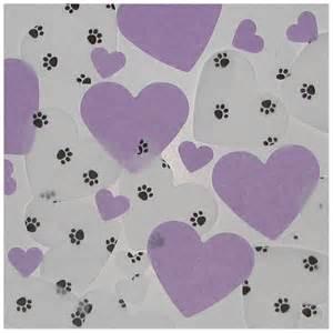 Dog Paw Print Heart