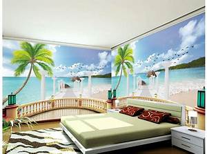 Custom 3d wallpaper 3d wall murals wallpaper The balcony ...
