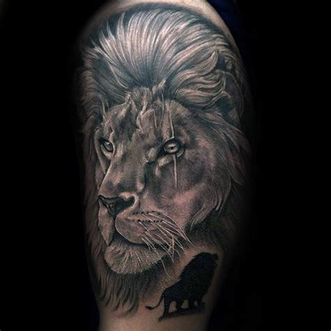 lion sleeve tattoo designs  men masculine ideas