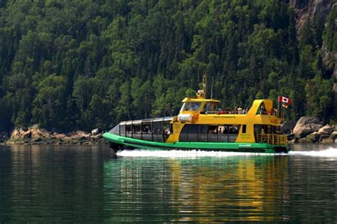 Montreal To Quebec City By Boat by Quebec The Wilderness Saguenay Fjord Montr 233 Al And