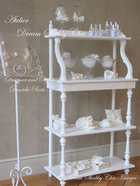 etagere shabby chic 17 best images about matrimonio shabby chic by
