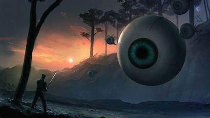 Terraria Eye Cthulhu Fan Eyes Wallpapers Cthulu
