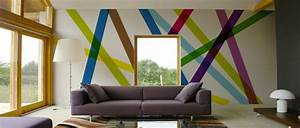 Papier Peint Deco : papier peint design trompe l oeil pour salon chambre cuisine ~ Voncanada.com Idées de Décoration