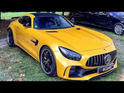 Mercedes Amg Gtr Yellow Colour Youtube