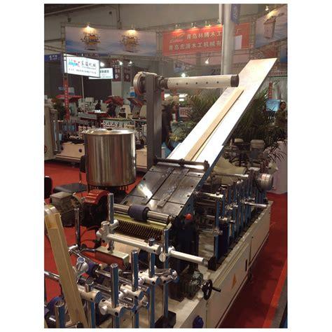 profile wrapping machine  veneer qingdao haozhonghao woodworking machinery