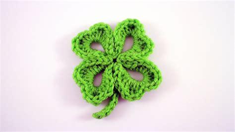 How To Crochet A Four Leaf Clover