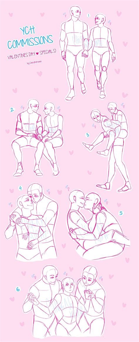 Ych Couple Poses Drawing Easy Drawing Ideas Cute Anime Boys Pictures Sleeping Reference Couple Cute Kawaii Anime Manga How To