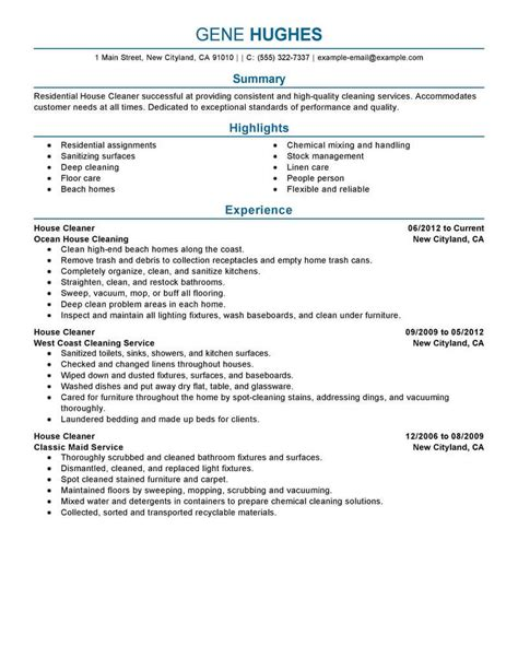Best Residential House Cleaner Resume Example  Livecareer. Mla Template Word 2013 Template. Job Description Of A Lawyer Template. Letterhead Design Word Format Template. Tips For Phone Interviews Template. Abc Car Insurance Contact Number. Personal Cash Flow Statements Template. Sample Of Shareholders Certificate Template South Africa. Project Management Timetable Template