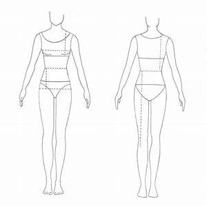11 best body templates images on pinterest fashion With textiles body templates