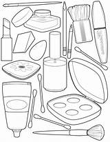Coloring Makeup Printable Sheets Colouring Kit Popular Barbie Educativeprintable sketch template
