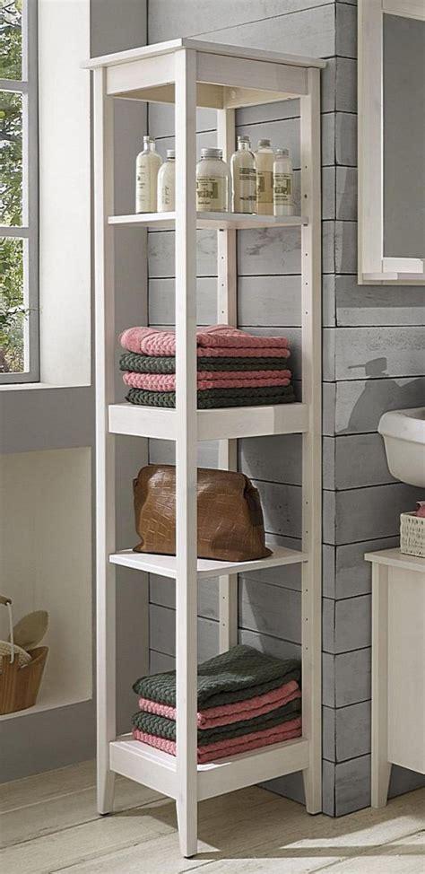 Badezimmer Regal Weiß by Badm 246 Bel Set 4teilig Kiefer Massiv Wei 223 Lasiert