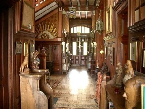 castle interior design 19th century french storybook