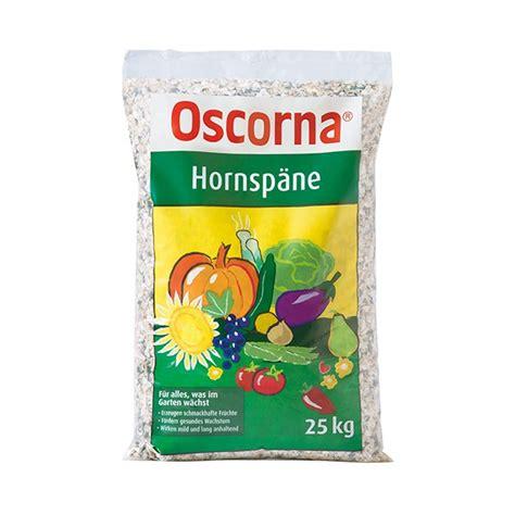 hornspäne 25 kg oscorna hornsp 228 ne horngrie 223 organischer stickstoffd 252 nger