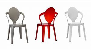 Kunststoff Stühle Stapelbar : plastikstuhl mit ovalem r ckenlehne stapelbar idfdesign ~ Indierocktalk.com Haus und Dekorationen