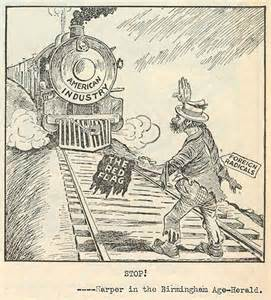 Red Scare 1920s Political Cartoon Immigration