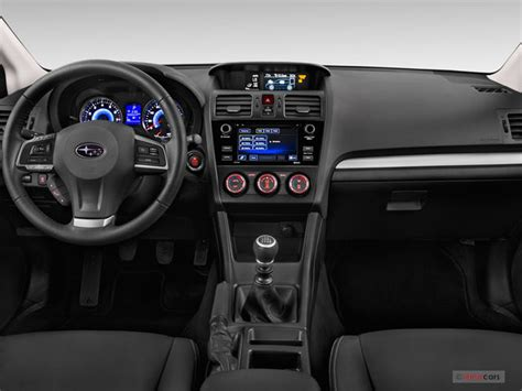 subaru crosstrek interior 2015 subaru crosstrek interior u s news world report