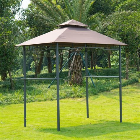 grill gazebo canopy outdoor 8 ft tier bbq grill canopy barbecue tent