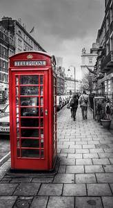 England Telephone Booth Wallpaper