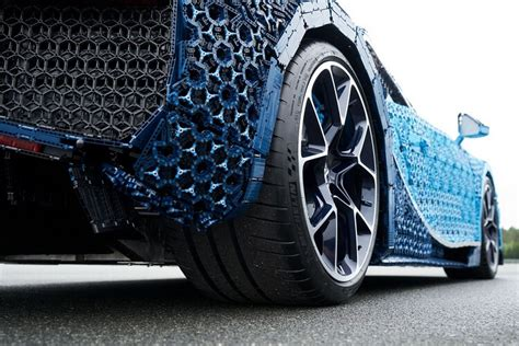 Lego is showcasing the true capabilities of their technic sets with the lego technic bugatti chiron. A Full-Size LEGO Bugatti Chiron: When A Supercar Is Made of Bricks!