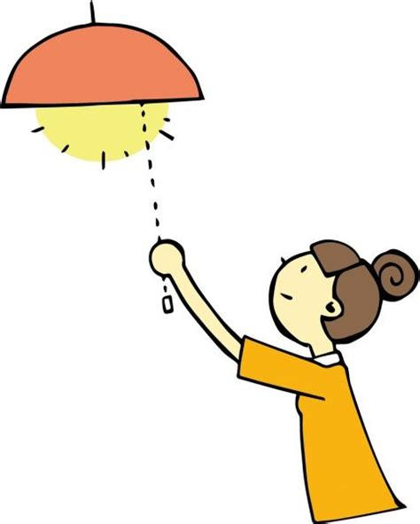 電気 を つける 漢字