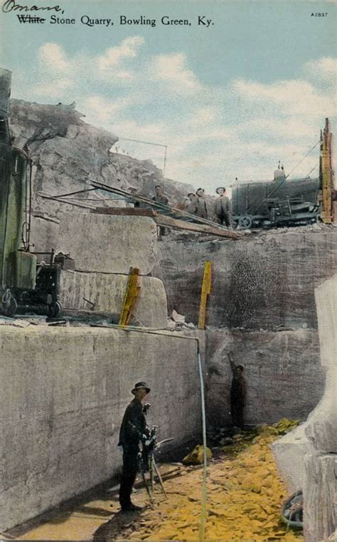 Quarries in Kentucky & Quarry Links, Photographs, and Articles