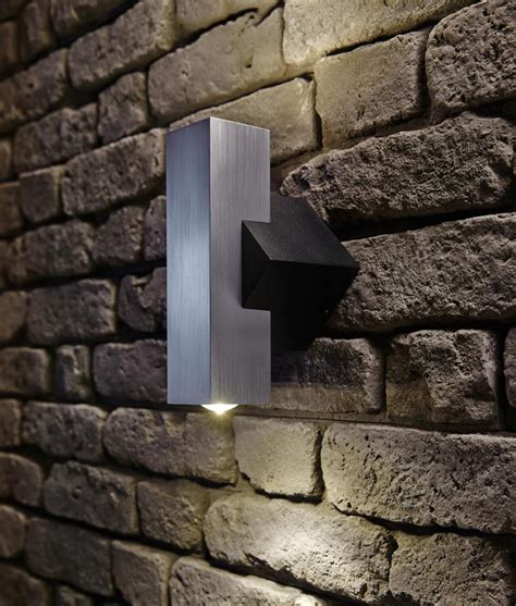 chunky angular and compact exterior wall wash light
