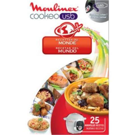 tablette recette cuisine moulinex cookeo 25 recettes du monde livre de cuisine