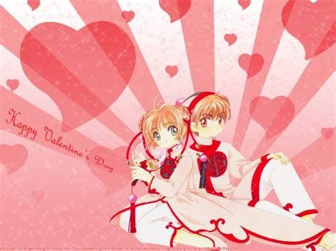 Valentines Day Anime Wallpaper - anime day cards wallpapers wallpaper