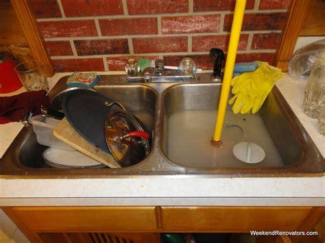 kitchen sink is clogged como desentupir pia de cozinha rapido demais 5844