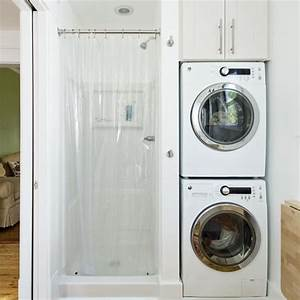Small bathroom designs with washer and dryer 2017 2018 for Bathroom ideas with washer and dryer