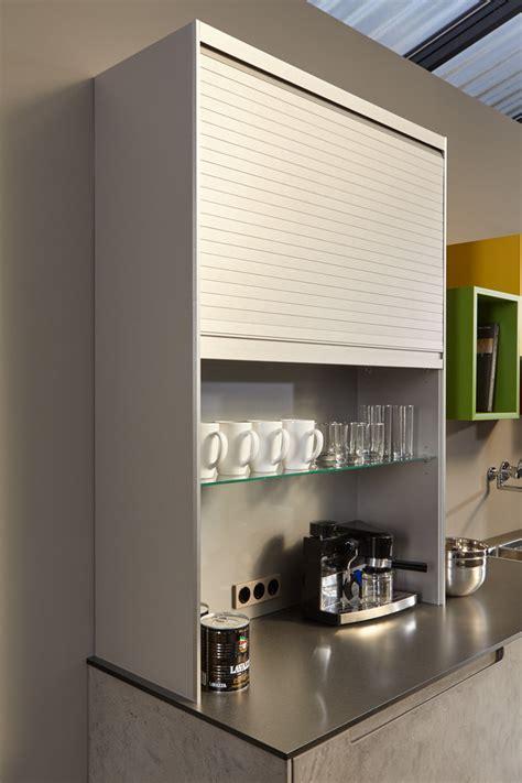 meuble rideau coulissant cuisine meuble avec rideau coulissant pour cuisine maison design