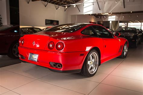 It shared its platform and 5.5 l (5474 cc) engine with the 2+2 456 (engine code: Collectible Classic: 1997-2002 Ferrari 550 Maranello