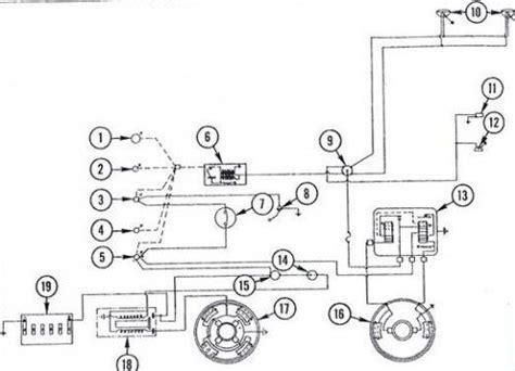massey ferguson 135 tractor wiring diagram diesel system tractors tractors