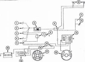 Massey Ferguson 135 Tractor Wiring Diagram Diesel System  With Images