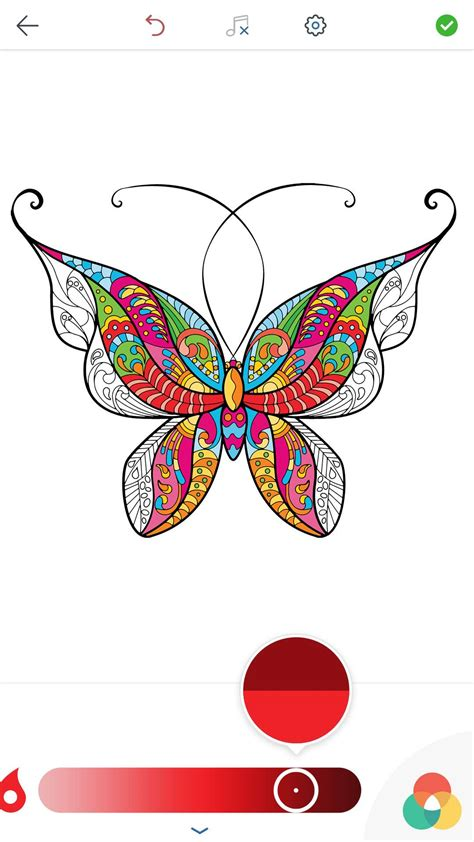 adult butterfly coloring pages  android ios  windows phone