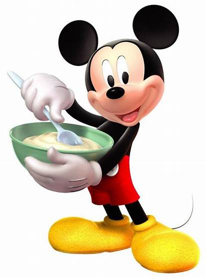 Mickey Minnie Mouse Disney Baking Clipart Cooking