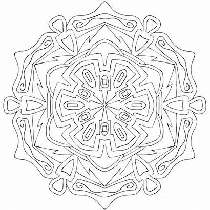 Wood Coloring Pages Carved Printable Mondaymandala Carving