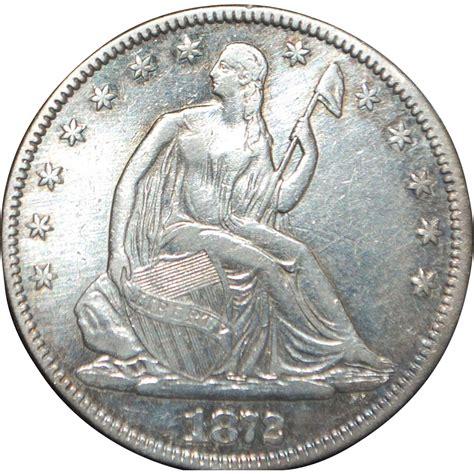 liberty dollar coin us liberty silver half dollar coin 1872 xf from antiqueworldusa on ruby lane