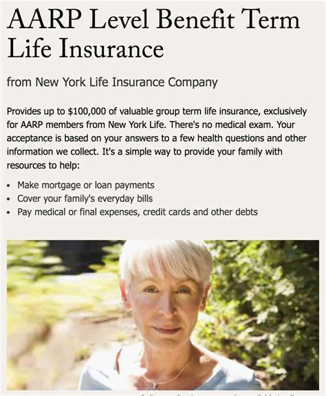 aarp life insurance review complete guide   pros