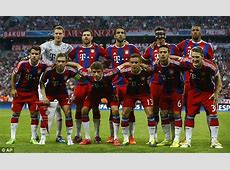 Bayern Munich were shown up in Champions League by